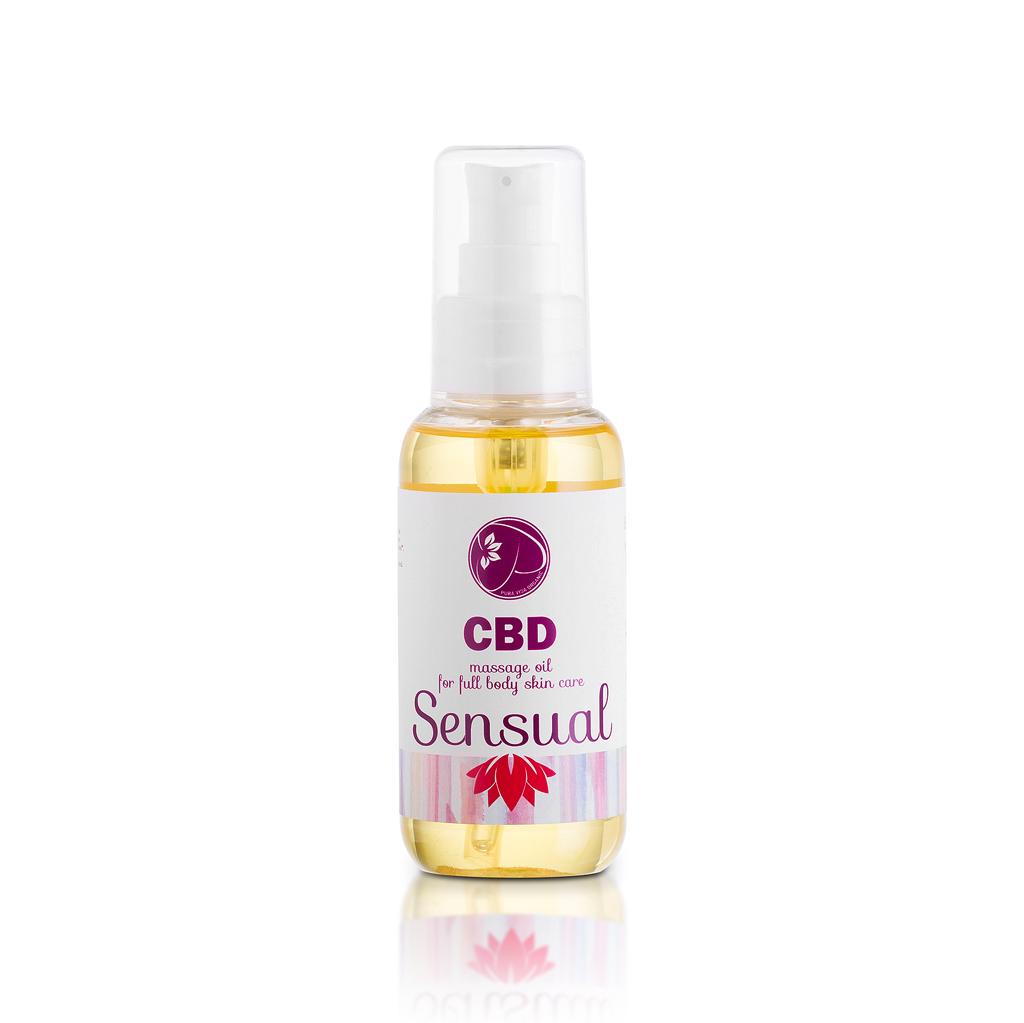 CBD massage oil Sensual