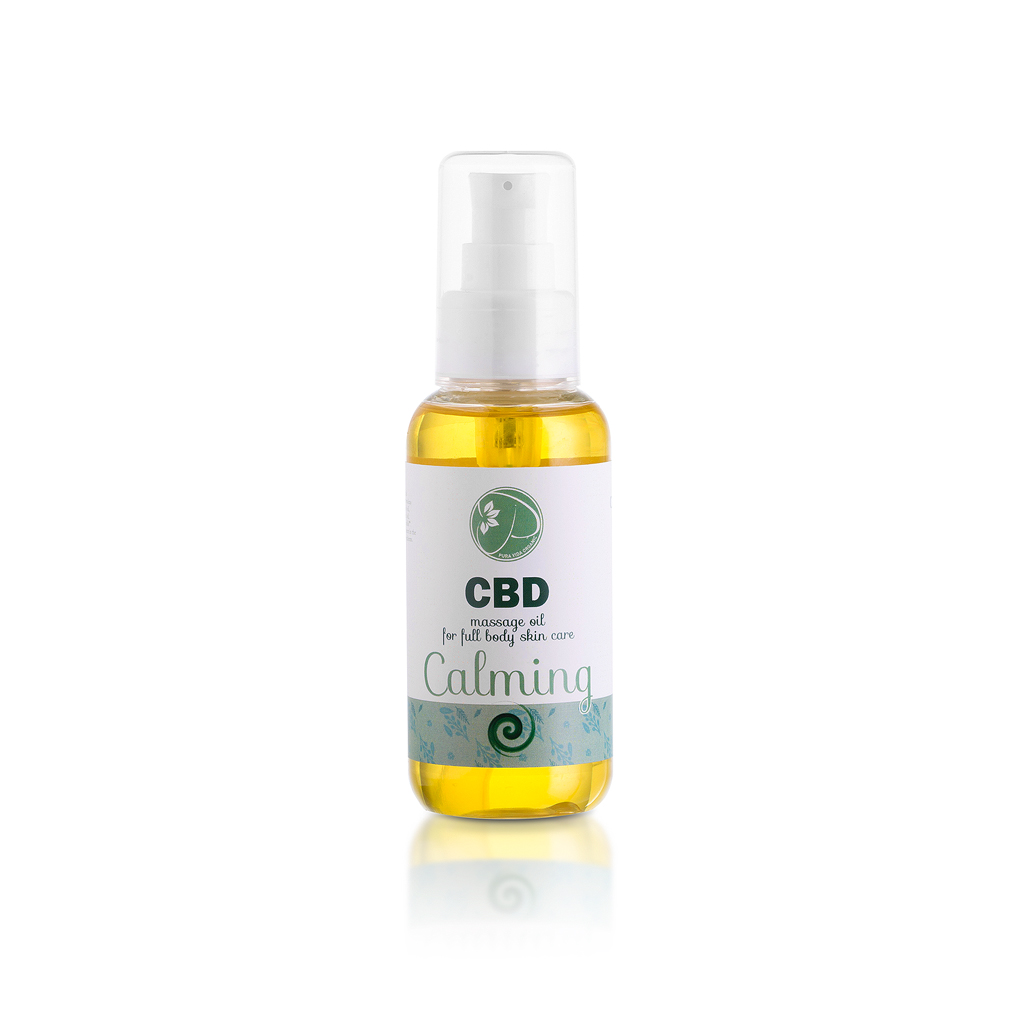 CBD massage oil Calming