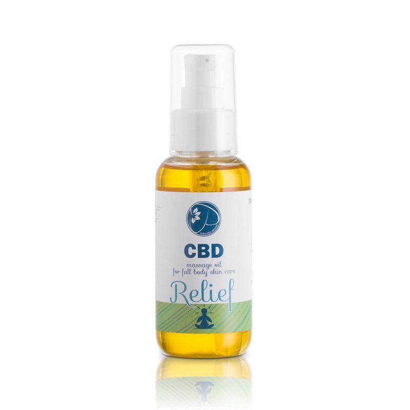 CBD massage oil Relief