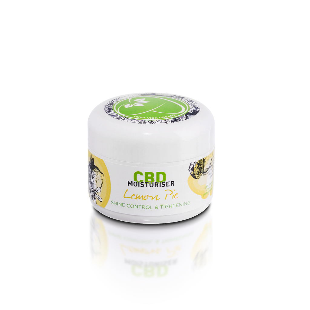 Lemon Pie CBD moisturiser