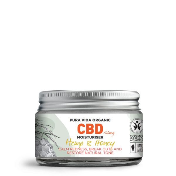 hemp and honey CBD moisturiser