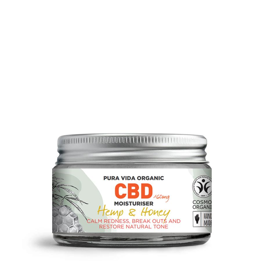 hemp and honey CBD moisturiser