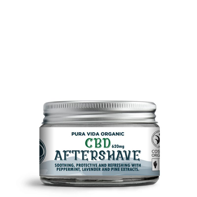 mens CBD aftershave moisturizer