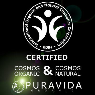 Cosmos organic & cosmos natural certified CBD skincare