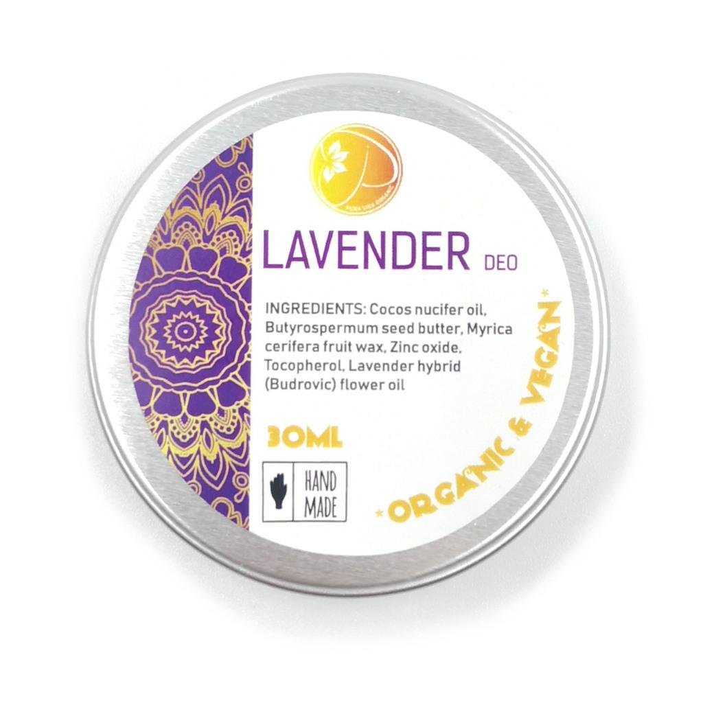 organic lavendar deodorant