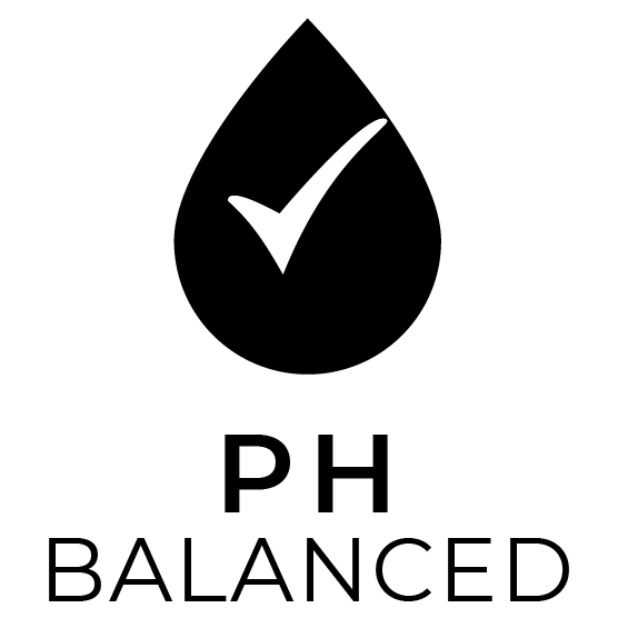 pura vida organic ph balanced badge