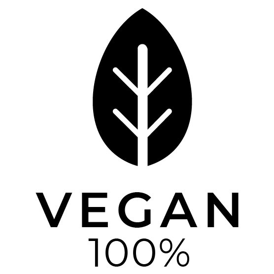 pura vide organic vegan badge