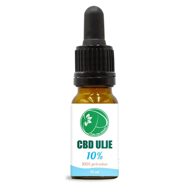 Broad spectrum 10% CBD oil