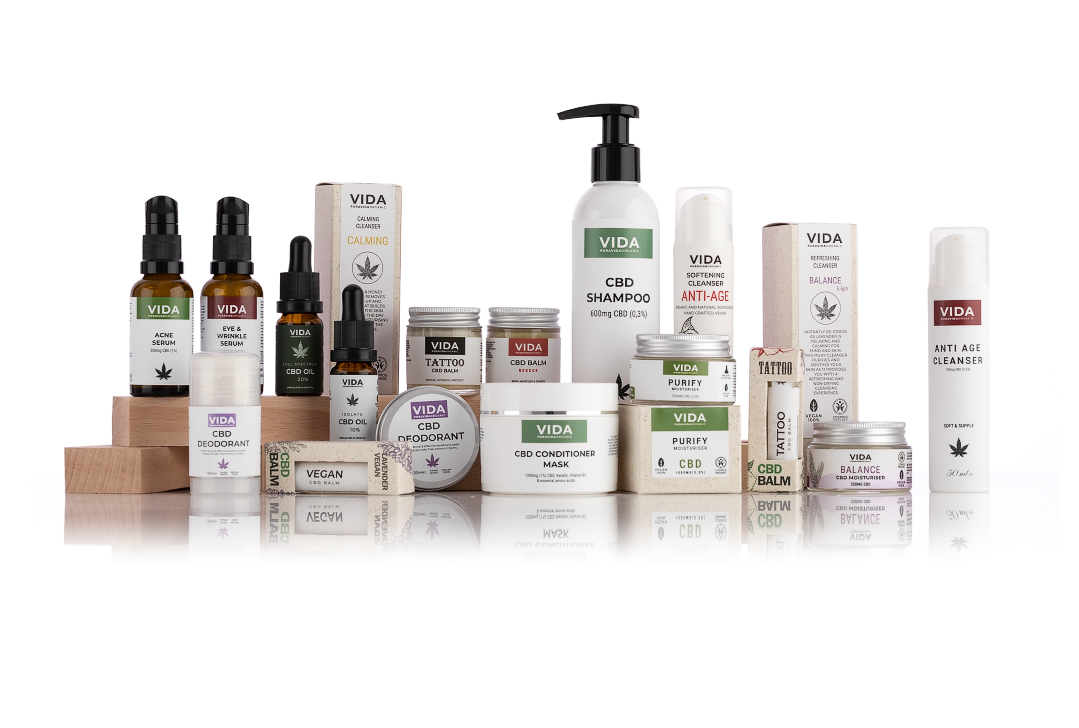 pura vida organic cbd cosmetics group photo