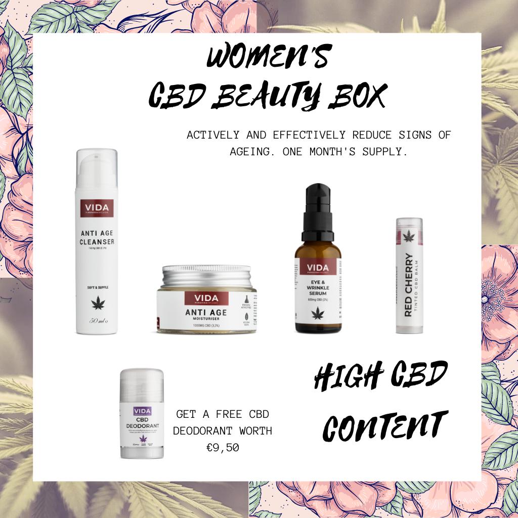 Women's CBD beauty box