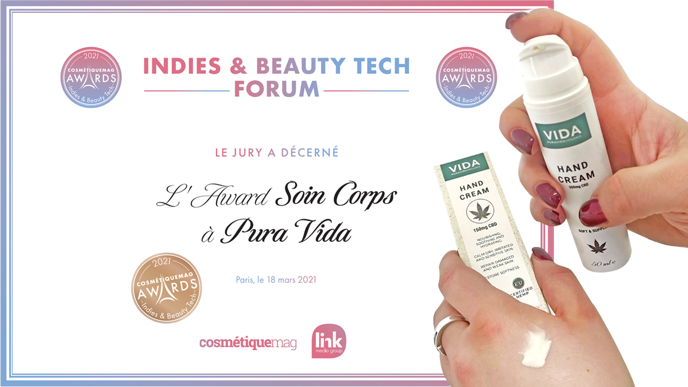 Award banner indies & tech beauty forum
